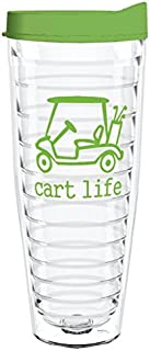 product image for Smile Drinkware USA-CART LIFE 26oz Tritan Insulated Tumbler With Lid and Straw