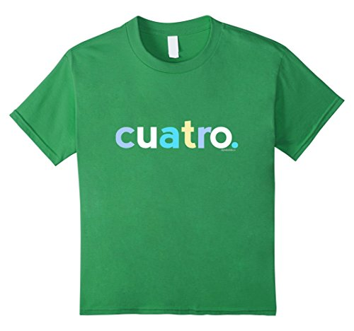 Kids 4th Birthday Shirt Boys 4 Cuatro Anos