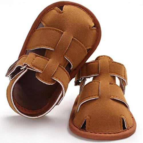 Baby Boys Summer Sandals Toddler Infant Girls Rubber Sole First Walker Shoes,Summer Boys Soft Sandals Infant Shoes 0-18 Month (13-18Months, DC) ()