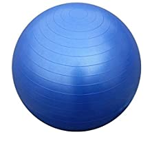 Kabalo Blue 65cm ANTI BURST GYM EXERCISE SWISS YOGA FITNESS BALL for PREGNANCY BIRTHING, etc (including pump)