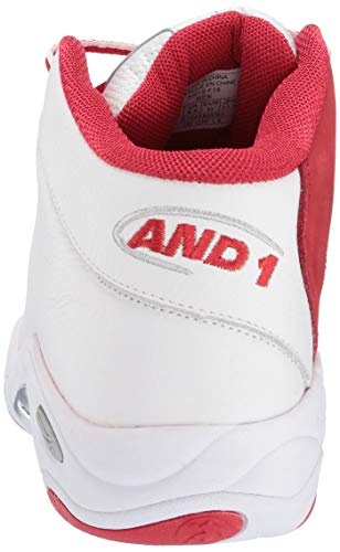 Basket Chinois De Hommes And1 Lx Chaussures Tai Blanc Rouge Argent Chi qP5g7zRczw