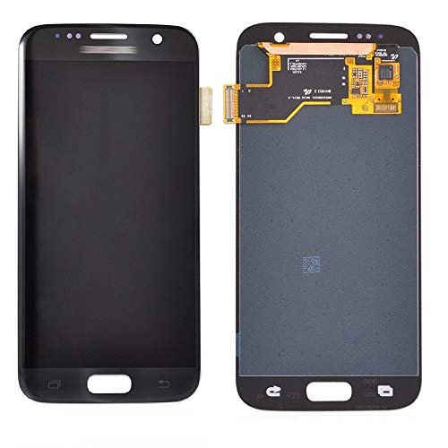 Display Touch Screen Digitizer Assembly Replacement Part for Samsung Galaxy S7. (Black)