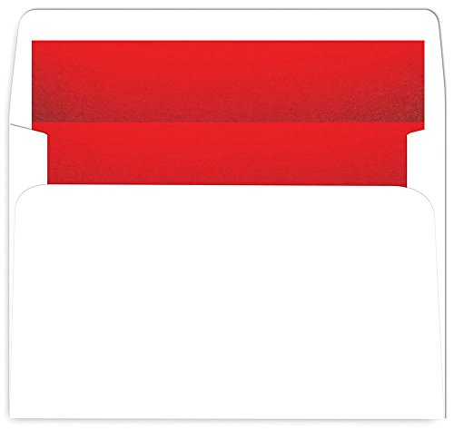 Great Papers! Red Foil-Lined A9 Foil Envelope, 25 count, 5.75