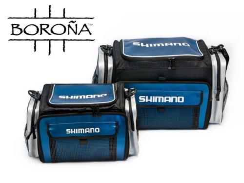 SHIMANO Borona Tackle Bag, Large, Navy - Shimano Tackle