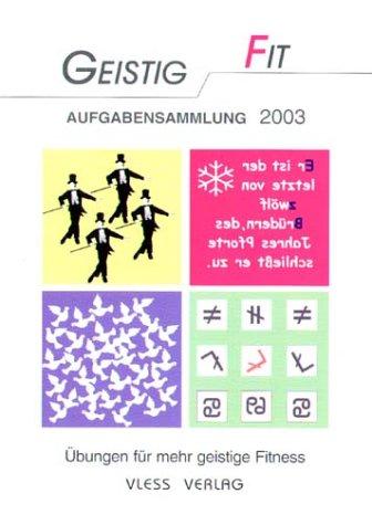 Aufgabensammlung 2003