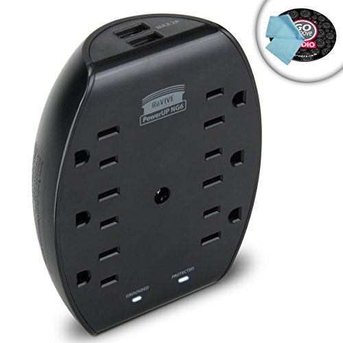 premium-6-ac-wall-outlet-surge-protector-with-21a-dual-usb-ports-600-joule-energy-rating-compact-des
