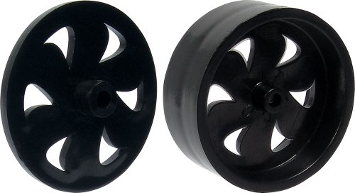 Pitsco Dragster Front GT-FX and Rear GT-RX  Wheel Set (Pack of (Dragster Front Wheels)
