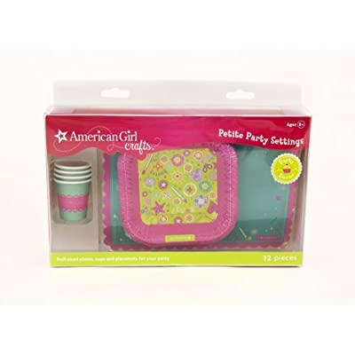 American Girl Crafts Doll Size Plates Cups And Placemats: Arts, Crafts & Sewing