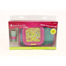 EK Success American Girl Crafts Doll Size Plates Cups And Placemats