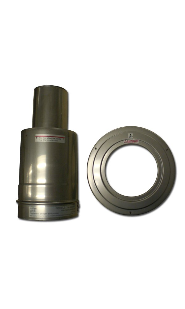 Noritz CVT-S Concentric Stainless Steel Horizontal Termination