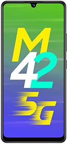 Samsung Galaxy M42 (Prism Dot Black, 8GB RAM, 128GB Storage)