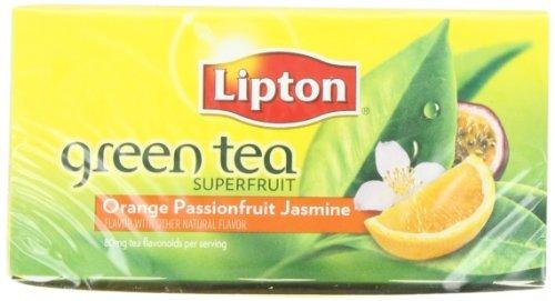 Lipton Green Tea, Orange Passionfruit & Jasmine, 20 Count Box, Garden, Lawn, Maintenance