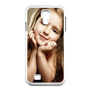 Samsung Galaxy S4 9500 Cell Phone Case White Cute Girl JHQ Generic Phone Case For Boys