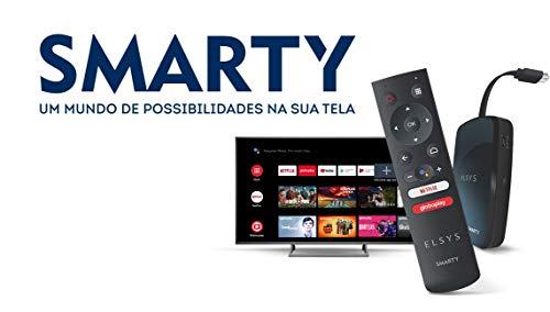 Receptor De TV Via Internet Full Hd Elsys ETRI01 Smarty, Preto