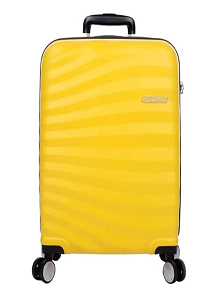 American Tourister - Juego de Maletas Unisex Adulto Amarillo Sunflower Yellow M: Amazon.es: Equipaje
