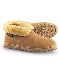 Men's Suede Bootie Slippers