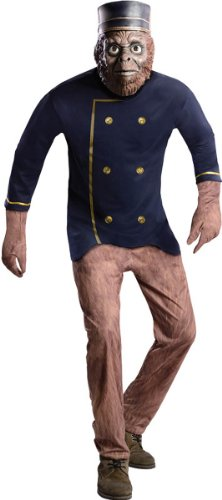 Deluxe Adult Finley Costumes (Rubie's Costume Disney's Oz The Great and Powerful Finley Jumpsuit, Multicolor, Teen Costume)