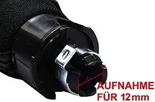de piel 5/velocidades como Plug Play para Notebook /7/Funda para Palanca de Cambio para en negro Pomo para cerradura L /& P a0254/
