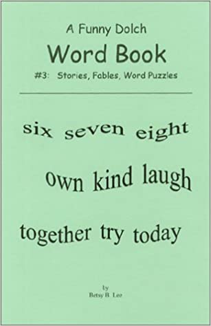Amazon.com: A Funny Dolch Words Book #3: Stories, Fables, Sight ...