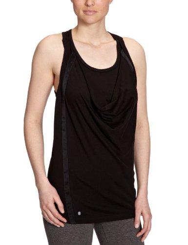 PUMA - Camiseta para mujer negro