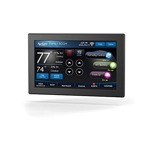 Aprilaire 8920W Color Touch Screen Wi-Fi IAQ Thermostat; Works with Alexa
