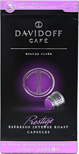 Davidoff Café Prestige Nespresso Capsules x 4 Boxes (10 capsules each box) (Davidoff Cafe)