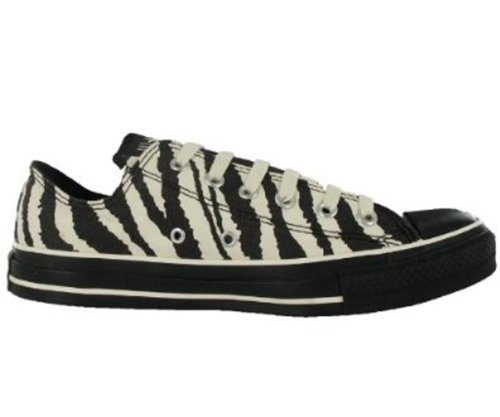 Converse All Star Chuck Taylor Animal Print Zebra Ox Boys Shoes