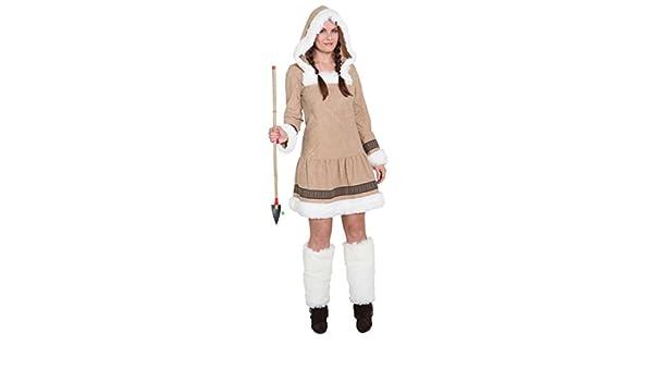 Disfraz de esquimal para mujer corto - patrón de costura para ...