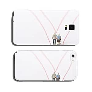 Husband and wife and the fork in the road cell phone cover case Samsung S5