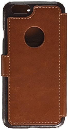 iPhone 6S Case - Verus [Layered Dandy][Brown] - [Premium Leather Wallet][Slim Fit][Card Slot] For Apple iPhone 6 6S 4.7