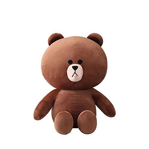 YXCSELL Brown Cuddly Super Soft Huge Plush Stuffed Animal Toys Teddy Bear Toy Doll 14 Inches from YXCSELL
