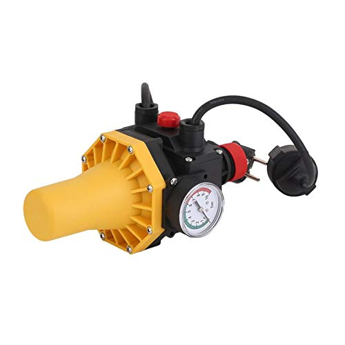 Yao PC03.C Water Pump Automatic Pressure Control Switch with Gauge EU Plug