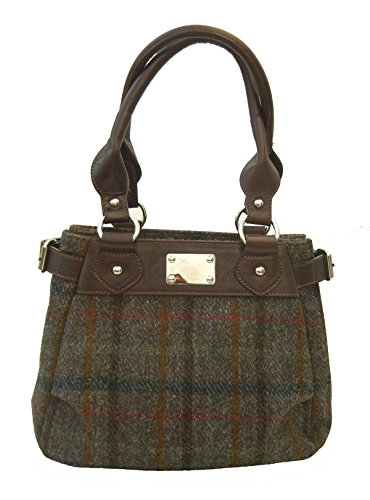 A Chantam Mano Donna Tweed Brown Borsa Harris qwBCF6