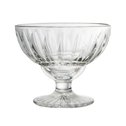 13.50 oz. Classic Elise Footed Ice Cream Coupe,Clear (Footed Ice Cream)