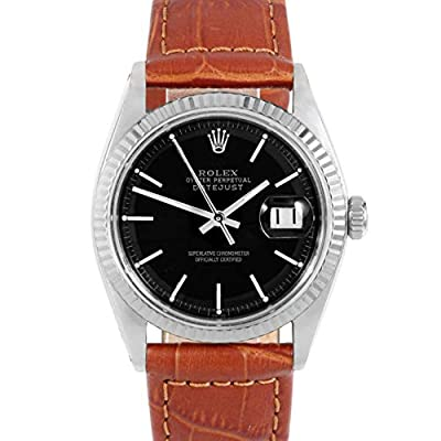 Rolex Datejust Automatic-self-Wind Male Watch 1601 (Certified Pre-Owned) from Rolex