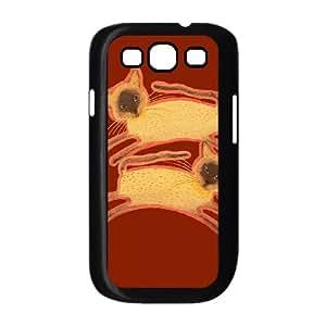 Samsung Galaxy S3 9300 Cell Phone Case Black SIAMESE TWINS OJ681007