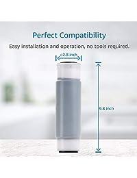 4 unidades aquacrest ap117 universal toda la casa filtro de cartucho de repuesto para reducción de cloro, suciedad y óxido