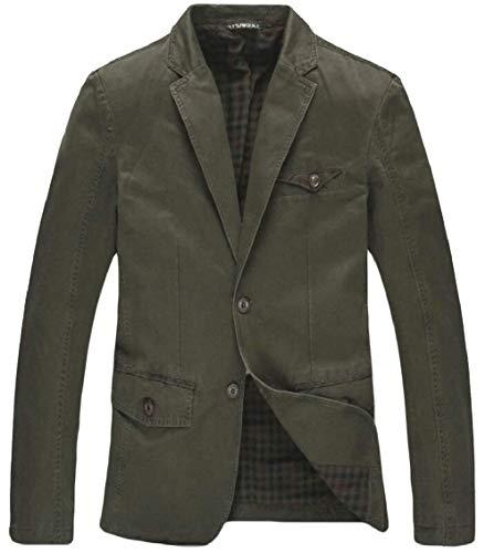 Colour Revers Casual Casua Boutons Moderne Vestes Blazer Manches Slim 2 Vintage Fit Pour Men's 2 Longues Costume Homme Loisirs Hommes qR4wzqU