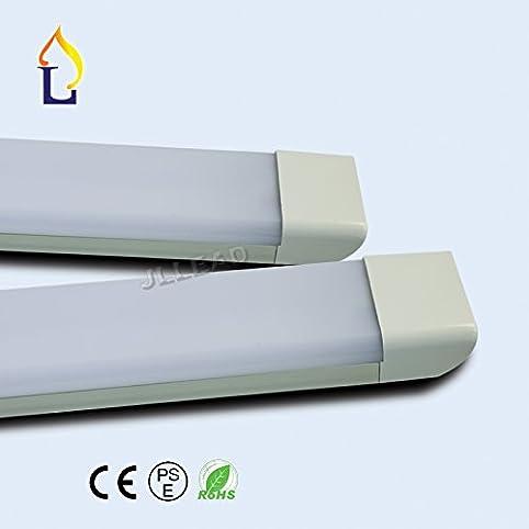 amazon com 20 pack high lumens 3ft 40w led batten lighting