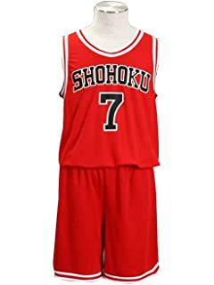 75bdc0ccb Mtxc Men s Slam Dunk Cosplay Miyagi Ryota Shohoku High School Basketball  Jersey  7