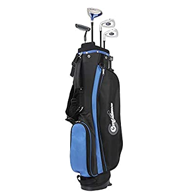 Confidence Junior V2 Golf Club Set with Stand Bag (for Kids Ages 8-12 Years (2019), Left)