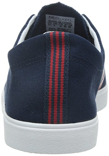 5 Sizes 6 UK Canvas adidas Mens Gents Easy Upper 10 Navy Lace Navy Trainers Ups New Neo naqRwO