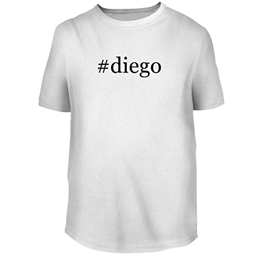 BH Cool Designs #Diego - Men's Graphic Tee, White, XX-Large