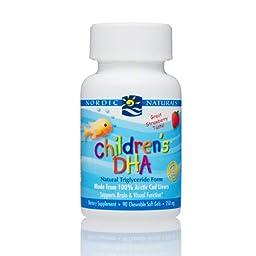 Nordic Naturals Childrens DHA Natural Triglyceride Form 360 softgels