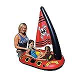 UR MAX BEAUTY Barco Pirata Inflable De Los Niños Gigantes, Agua Inflable Flotante Fila Bebé Natación Anillo De Natación para Aumentar El Espesamiento