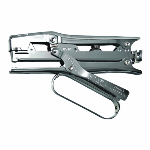 Ace Clipper Plier Stapler, Chrome Finish (Ace Construction Stapler)