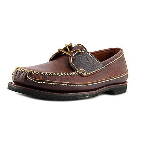 Eye Tie Shoe - Chippewa Men's American Bison Two Eye Tie Oxford Penny Loafer, Brown, 11 D US