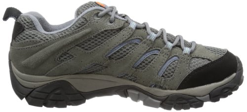 de cuero de GTX MOAB PERIWINKLE GREY senderismo Merrell mujer Zapatos wx6vOa1