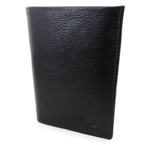 european 'Frandi' york 'Frandi' black ecological wallet black Leather ecological wallet Leather Zx4zqwEzv