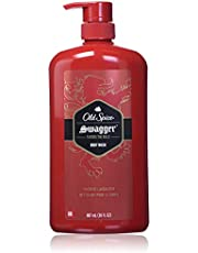 Old Spice Body Wash for Men, Red Zone, Swagger Scent, 887 ml